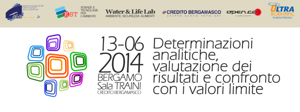 Convegno: Determinazioni analitiche, valutazione dei risultati e confronto con i valori limite